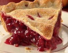 Old-fashioned Cherry Pie Recipe