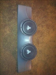 "Custom Porsche JL Audio Subwoofer Speaker Box w/ 2 8"" Subs and 250w JL Amp!!!! - Rennlist Discussion Forums"