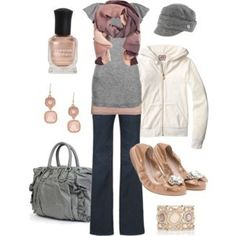 Pink & Gray. by rosetta