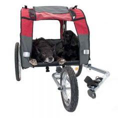 Rimorchio per bici Globetrotter + Jogging Kit