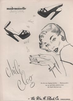 Shoes for Summer 1946 from the William H. Block Co. in Indianapolis