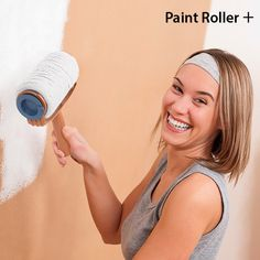 Discover the incredible Paint Roller + and paint the walls of your house with complete ease! You'll save time and money with Paint Roller +, as it avoids spills and drips, and you don't need to constantly refill it with paint thanks to its large c. Drip Painting, Beauty Products, Garden, Shop, Ebay, Ideas, Home, Pintura, Money