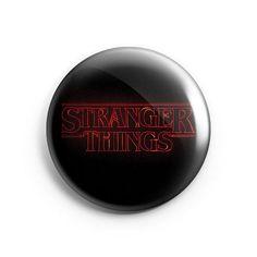 Brazil Stickers - Bóton 38mm - Stranger Things - Logo