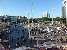 """Praça Taksim"". Istambul, Turquia."