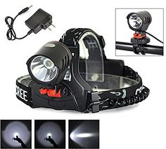 Welltop Headlights 2000Lm XML XML T6 LED 18650 3Mode Touch Shift Touchable Headlamp Headlight Bike Light 2 In 1 Headlight ** Learn more by visiting the image link.