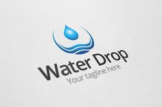 Check out Aqua Drop Logo by Arslan on Creative Market