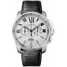 CARTIER [NEW-OLD-STOCK] Calibre de Cartier Men's Watch W7100046 (Retail Price HK$76,500) ~ Best Price HK$58,500