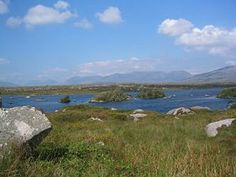Connemara located in the peninsula of Western Galway, Ireland