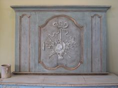 perfect to do a panel in a toscana finish and add some relief detail to gild or do in a monochromatic finish