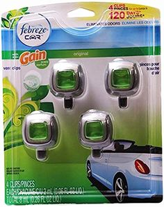 #Febreze #Car #Vent #Clip #Air #Freshener, #Gain #Original #Febreze #Car #Vent Clips attach easily and act instantly These #car #air fresheners eliminate tough odors and replace them with a refreshing scent. Lasts up to 30 days https://automotive.boutiquecloset.com/product/febreze-car-vent-clip-air-freshener-gain-original/