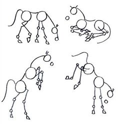 How to draw a horse. This method shows the proportions of the head vs body vs ho. - How to draw a horse. This method shows the proportions of the head vs body vs hooves. Other methods - Drawing Lessons, Drawing Techniques, Drawing Tips, Drawing Sketches, Painting & Drawing, Drawing Poses, Horse Drawing Tutorial, Drawing Tutorials, Art Tutorials