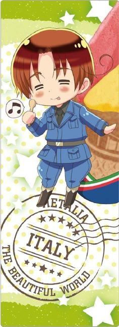 Amazon.com - The Beautiful World Hetalia Hetalia Clear Bookmark 1 (japan import) - Toy Figures