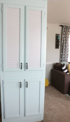 Pantry Makeover with adhesive vinyl