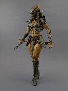 (Science) Fiction, Fantasy, & Adventure AVP Part 3: She-Wolf Predator vs Queen Alien *BONUS Pics Added* - OSW: One Sixth Warrior Forum
