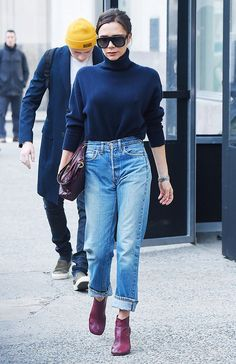 Victoria Beckham Style: 26 Looks Anyone Can Copy Victoria Beckham Outfits, Style Victoria Beckham, Viktoria Beckham, Stylish Outfits, Fashion Outfits, Womens Fashion, Stylish Clothes, Fashion Clothes, Fashion Fashion