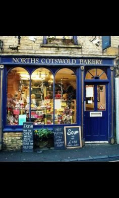 Panaderia,los Cotswolds.