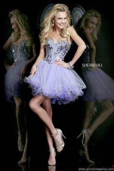 Sherri Hill Short Dress 11131 at Prom Dress Shop