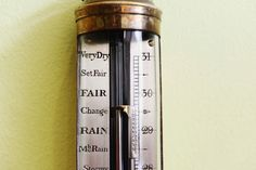 Antique Ships Stick Barometer Lisbon c1900 R N Desterro Brass Ships Barometer | eBay