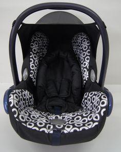 Infant Dot Design Baby Full Seat Cover Set