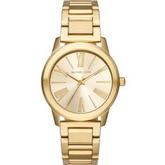 Michael Kors MK3490 gold-toned stainless steel watch