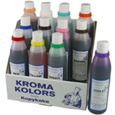 Kroma Airbrush Edible Colours (SELECT COLOUR)