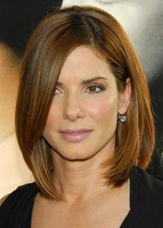 Frisuren für schulterlanges Haar - trendy Haarschnitte von Celebrities