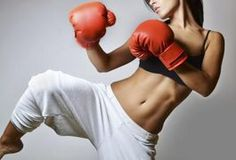 Kickboxing is a fun but challenging series of exercises that combines various martial arts and traditional boxing. Through kicks, jabs and punches, you will get a total body workout that can burn up to 450 calories per hour for an average-size woman. Many gyms offer kickboxing classes, but you can easily do free workouts at home following these...