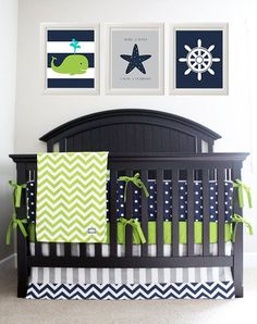 nautical themed nursery room More