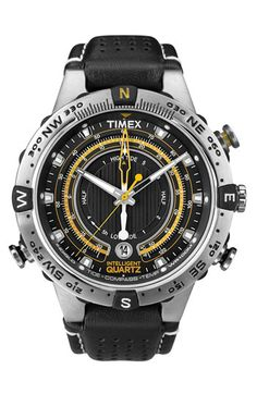 Dear Timex, I like your watches. I liked them when I was 7, 17, 27 and still at 37. Timex® 'Intelligent Quartz' Compass Watch.