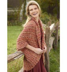 Simple Crochet Shrug at Joann.com free pattern