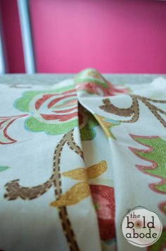 How to Make Box Pleats {Apron Series} - The Bold Abode