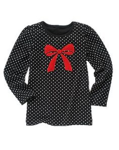 Ribbon Dot Tee from Gymboree.