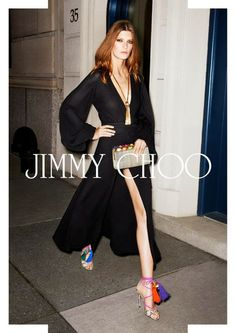 Jimmy Choo advertising campaign spring summer 2013