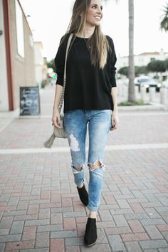 854c70556a3 4 Ways to Style Black Ankle Boots