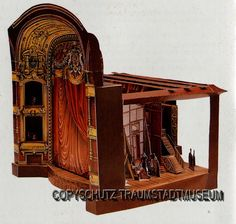 """Théâtre à'l Italienne"" TOY THEATRE CUT-OUT"