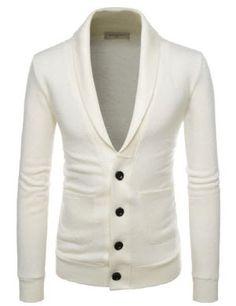 (SVE) Mens slim Fit chain point 3 button vest