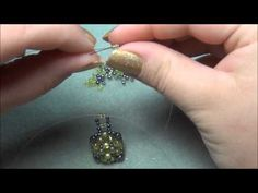Square Dome Beaded Ring Tutorial