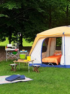 Here, REDBOOK shows you the best accessories for a better campsite!