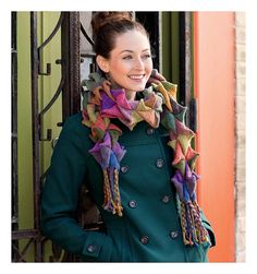 Ravelry: Three-D Entrelac Scarf pattern by Kathryn Alexander