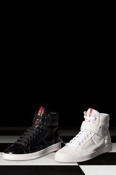 daade48cf09891 Prada - Nappa High-Top Sneakers
