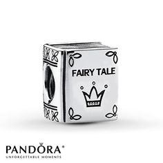 Pandora Charm Once Upon a Time  Sterling Silver