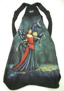 Hippy Bag~Unisex Pagan Hippy Fairy with Unicorn Backpack~Fair trade by Folio Gothic Hippy 95115