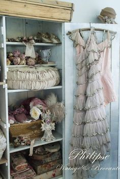 Vintage romance...beautiful colors and textures, wonderfully arranged!