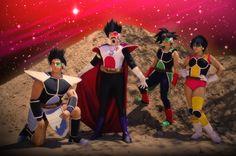 Anime: Dragon Ball GT. Characters: Toma By Jeff, King Vegeta By Anatra. Celipa By Andree Nicole Warner 'aka' Technoranma & Bardock By Alex Warner 'aka' Glay. (Quantum Destiny). From: , Canada. Event: AnimeNorth 2008