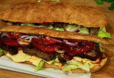 Imperium, Sandwiches For Lunch, Food And Drink, Beef, School Lunch Sandwiches, Ox, Steak