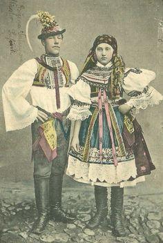 Folk Costume, Costumes, Culture Club, Vintage Pictures, Czech Republic, Headdress, Traditional Dresses, Folklore, Ph
