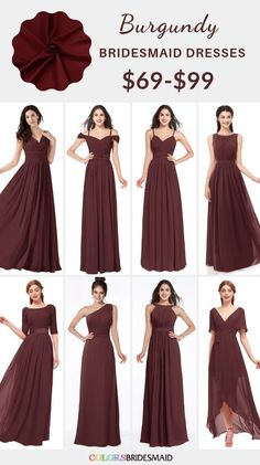 Mauve and grey september wedding color inspirations mauve bridesmaid dresses, bouquets and flowers in mauve, mauve wedding dessert, mauve and grey Wedding Ceremony Arch. Bridesmaid Dresses Under 100, Grey Bridesmaids, Burgundy Bridesmaid Dresses, Wedding Dresses, Bridesmaid Gowns, Prom Dresses, Formal Dresses, Mauve Dress, Burgundy Dress