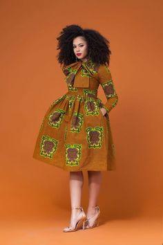 Most Beautiful Ankara Short Dresses | Stylish Gwin Africa   -  #africanfashiondresses #africanfashiondressesKids #africanfashiondressesProm #africanfashiondressesWithSleeves