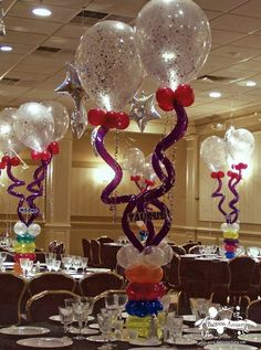 Whimsically Cool Centerpieces