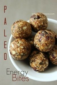 Paleo Energy Bites (Nut Free) - terrible. Don't stick together. Needed to add peanut butter and agave.